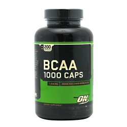 Optimum Nutrition BCAA 1000, 200 Capsules