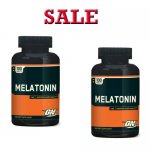 Optimum Nutrition Melatonin, 100 Tablets-2 Bottle- Sale