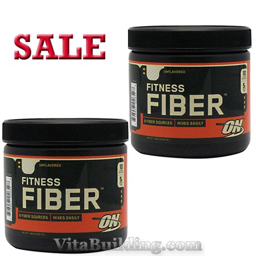 Optimum Nutrition Fitness Fiber- 2 Pack- Sale - Click Image to Close
