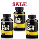 Optimum Nutrition Opti-Men, 240 Tablets-3 Pack- Sale