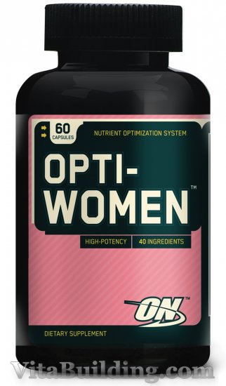 Optimum Nutrition Opti-Women, 60 Capsules - Click Image to Close
